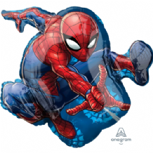 Spiderman Large Foil Balloon 1pc